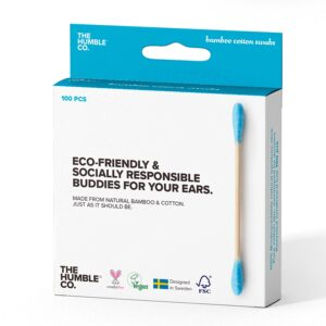 The Humble Co. Natural Bamboo Swabs