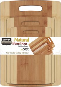 utopia bamboo cutting board
