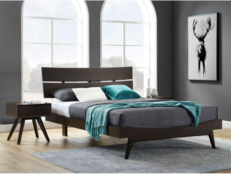Eco Ridge Summit Platform Bed | Havana - Eastern King
