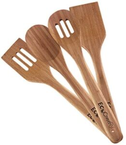 EcoCheph 4-Piece Natural Bamboo Utensil Set