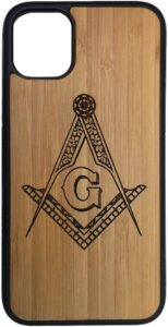Freemason Bamboo iPhone 11 Case