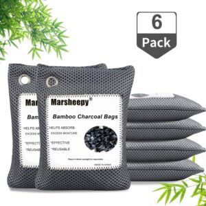 Marsheepy 2020 Upgraded Bamboo Charcoal Air Purifying Bags