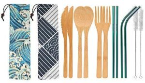 UPTRUST 2 Set Bamboo Cutlery Set