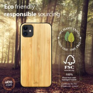 iATO Iphone Bamboo Case